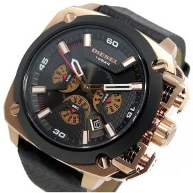 ディーゼル DIESEL クオーツ クロノ メンズ 腕時計 DZ7346 ブラック