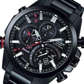 カシオ エディフィス ソーラー メンズ 腕時計 EQB-500DC-1AJF ブラック 国内正規