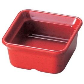 バイキング角小鉢 赤 代引不可
