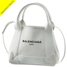バレンシアガ BALENCIAGA ネイビー カバ xs トート キャンバス NAVY CABAS XS 2WAYハンドバッグ 390346 9DH1N 9090