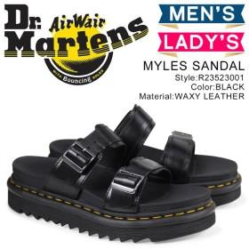 ドクターマーチン Dr.Martens サンダル マイルズ ストラップ メンズ レディース MYLES SANDAL ブラック 黒 R23523001