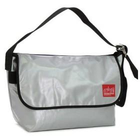 マンハッタンポーテージ manhattan portage ショルダーバッグ 1607v-vl vinyl vintage messenger bag silver