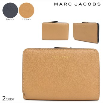 マークジェイコブス MARC JACOBS 財布 二つ折り レディース THE COMPACT C0001540