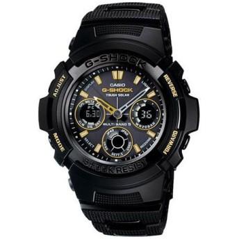 カシオ Gショック CASIO 腕時計 BLACK×GOLD AWG-100BC-1AJF
