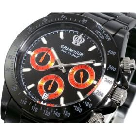 グランドール GRANDEUR 腕時計 クロノグラフ メンズ OSC031W2