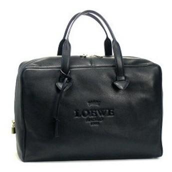 ロエベ loewe ハンドバッグ heritage leather 377.79.g05 heritage weekender black bk