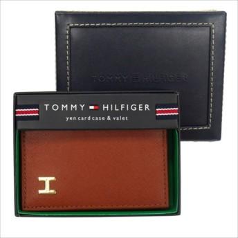 トミーヒルフィガー TOMMY HILFIGER Dublin カードケース ライトブラウン トミーヒルフィガー キーケース 卒業祝い