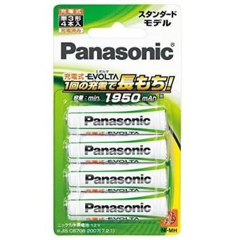 パナソニック エボルタ充電池単3 BK-3MLE/4B