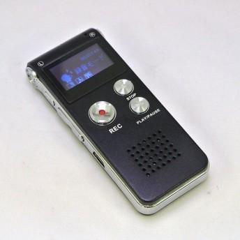 ボイスレコーダー 長時間録音 スピーカー内蔵 MP3再生 8GB ROKUON