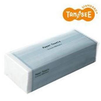 (まとめ)TANOSEE ペーパータオルハード〔エコノミー〕 200枚入 40個×5ケース
