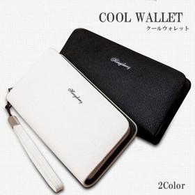 PU製 財布 カードケース 大容量 2カラー 男女兼用 メンズ レディース KZ-LGCARD2