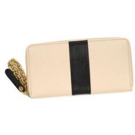 シーバイクロエ see by chloe 長財布 長札 9p7533 smart zipped wallet pink beige l.pk