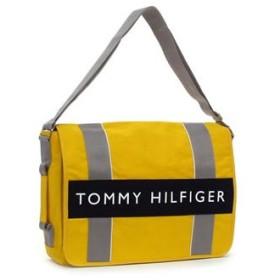 トミー・ヒルフィガー tommy hilfiger ショルダーバッグ l400358(l500082) messenger outback yellow/navy