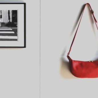 【カラーオーダー】三日月型のショルダーバッグ For Women 『ミネルバボックス』お好きな色で制作 [送料無料]