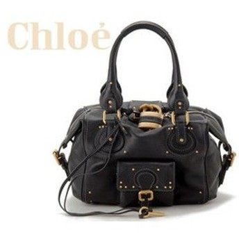 クロエ chloe パディントン ハンドバッグ sa22-7e422-001 ブラック