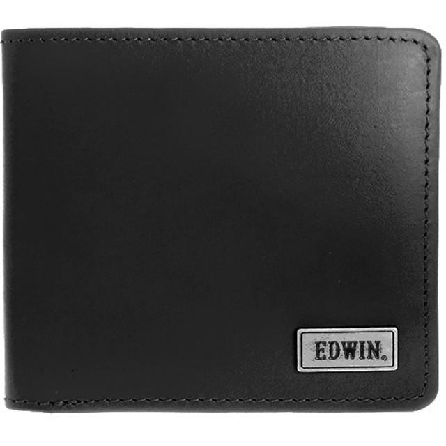 aed59fb6a2e0 エドウィン EDWIN 二つ折り財布 メンズ 0510445-BK ブラック 通販 LINE ...