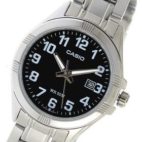 カシオ CASIO クオーツ レディース 腕時計 時計 LTP-1308D-1BVDF ブラック