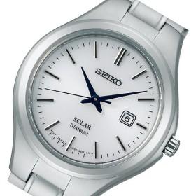 セイコー SEIKO スピリット ソーラー レディース 腕時計 STPX023 ホワイト 国内正規