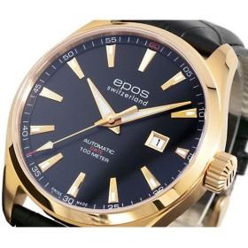 エポス EPOS 腕時計 自動巻き メンズ 3401RGPBK