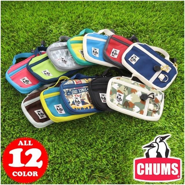 【20%OFFセール】チャムス CHUMS スマートフォンケース コーデュラエコメイド Eco Smart Phone Case メンズ レディース ch60-2022
