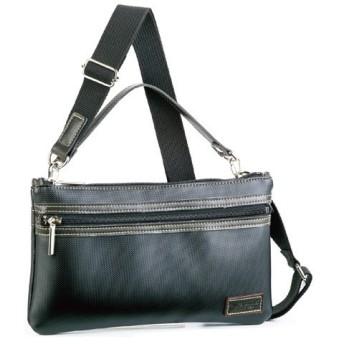 フィリップラングレー ショルダーバッグ メンズ 1640301 ブラック 国内正規