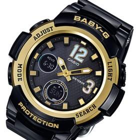 カシオ ベビーG タフソーラー レディース 腕時計  BGA-2100-1BJF ブラック 国内正規