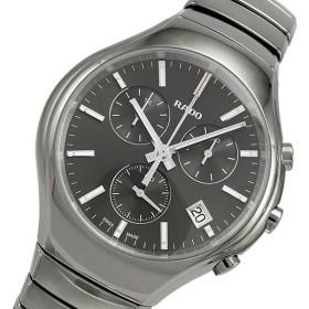 fba12cb633 ラドー トゥルー True クオーツ メンズ クロノ 腕時計 R27896102 グレー 国内正規