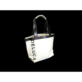 DEAN&DELUCA キャンバス トートバッグ ホワイト S 171395