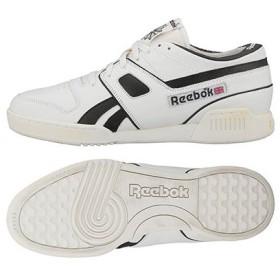 Reebok CLASSIC リーボッククラシックプロ ワークアウト ロー オフホワイト/ブラック/エクセレントレッド V52536