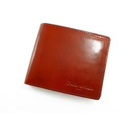 ドルチェ メディオ DOLCE MEDIO メンズ 二つ折り 短財布 DM-0133-LBR ライトブラウン