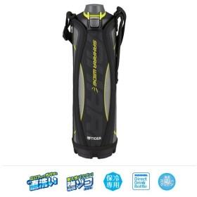 送料無料 タイガー 直飲み水筒 ステンレス ボトル ポーチ付き 1.5L ブラック  MME-C150 0638