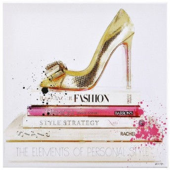 オリバーガル OLIVER GAL GOLD SHOE AND FASHION BOOKS アートボード 13071