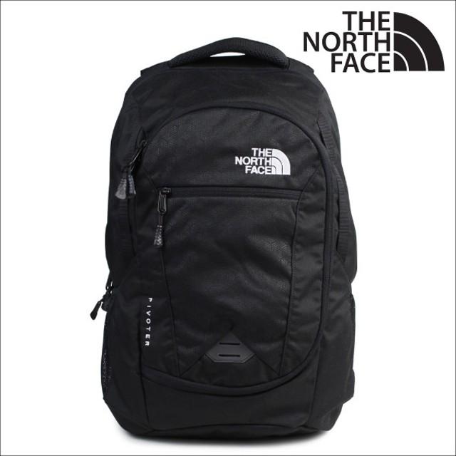 ノースフェイス リュック THE NORTH FACE メンズ レディース バックパック PIVOTER NF00CHJ8 ブラック