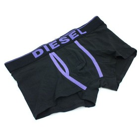 ディーゼル diesel トランクス 00cem3ajy-613-m ブラック&パープル