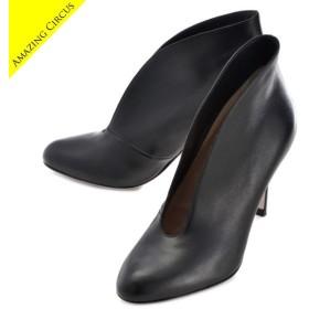 ジャンヴィトロッシ GIANVITO ROSSI 靴 ブーティ ナッパレザー G29610 0001 0001