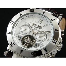 サルバトーレマーラ 腕時計 自動巻き メンズ SM7023-SSWH
