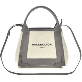 バレンシアガ BALENCIAGA バッグ BAG 2WAYハンドバッグ NAVY CABAS XS 390346 AQ38N 2881