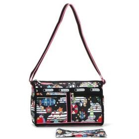 LeSportsac レスポートサック deluxe shoulder satchel 7519