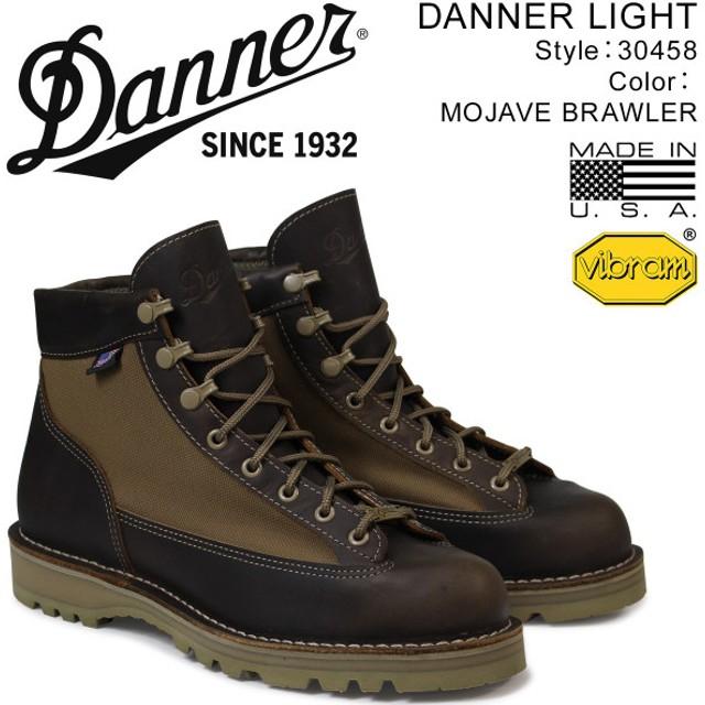 ダナー ブーツ Danner DANNER LIGHT MADE IN USA メンズ ブラウン 30458