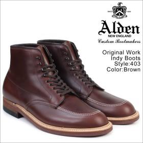 ALDEN オールデン インディー ブーツ メンズ ORIGINAL WORK INDY BOOTS Dワイズ 403