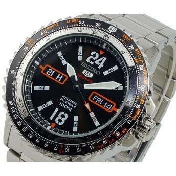 セイコー ファイブ SEIKO 5 スポーツ 自動巻き 腕時計 SRP347J1