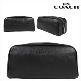 COACH コーチ バッグ トラベルポーチ F93445 ブラック メンズ レディース