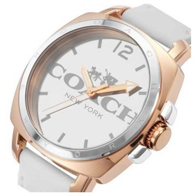 コーチ COACH ボーイフレンド クオーツ レディース 腕時計 CO14502163 ホワイト