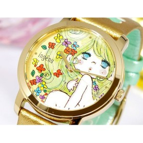 セイコー アルバ アンジェーヌ 水森亜土 腕時計 レディース AHJS700