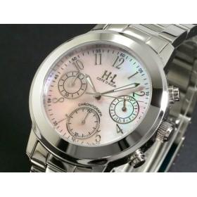 H・L アッシュエル 腕時計 レディース クロノグラフ HLT601-04