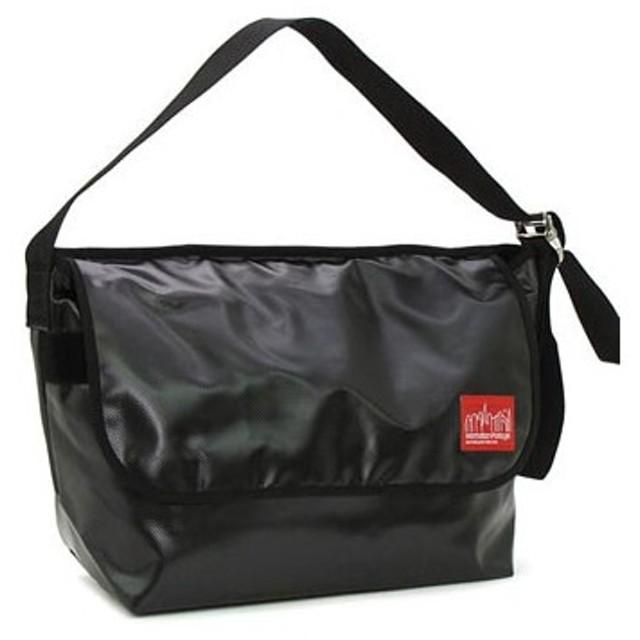 マンハッタンポーテージ manhattan portage ショルダーバッグ 1607v-vl vinyl vintage messenger bag black