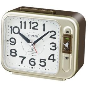 ノア精密 マグ MAG クオーツ 置き時計 ウェイクアップ2号 T-687-CGM