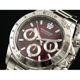 グランドール GRANDEUR 腕時計 クロノグラフ メンズ OSC026W2