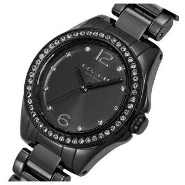 439b06b7e8 コーチ COACH トリステン ミニ クオーツ レディース 腕時計 CO14502130 ブラック