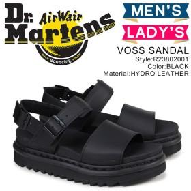 ドクターマーチン Dr.Martens サンダル ヴォス ストラップ メンズ レディース VOSS SANDAL ブラック 黒 R23802001